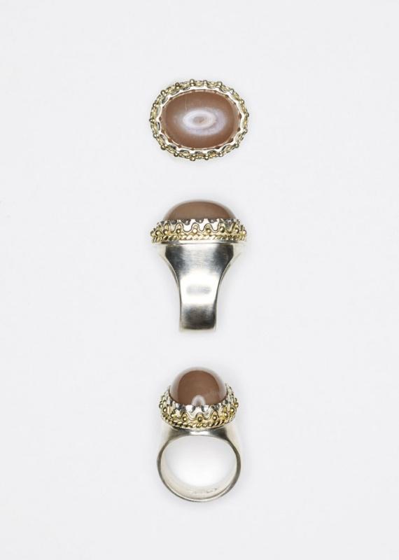 Ring // brauner Mondstein // € 580